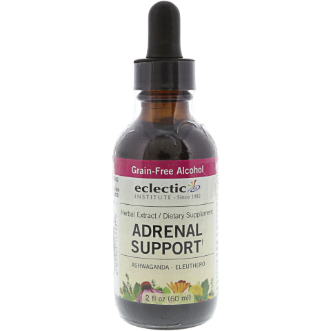 Eclectic Institute Herbal Extract Stress Relief and Nervous System Adrenal Support Dietary Supplement