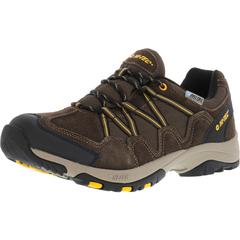 Hi-Tec Men's Dexter Low Waterproof Ankle-High Mesh Hiking Shoe
