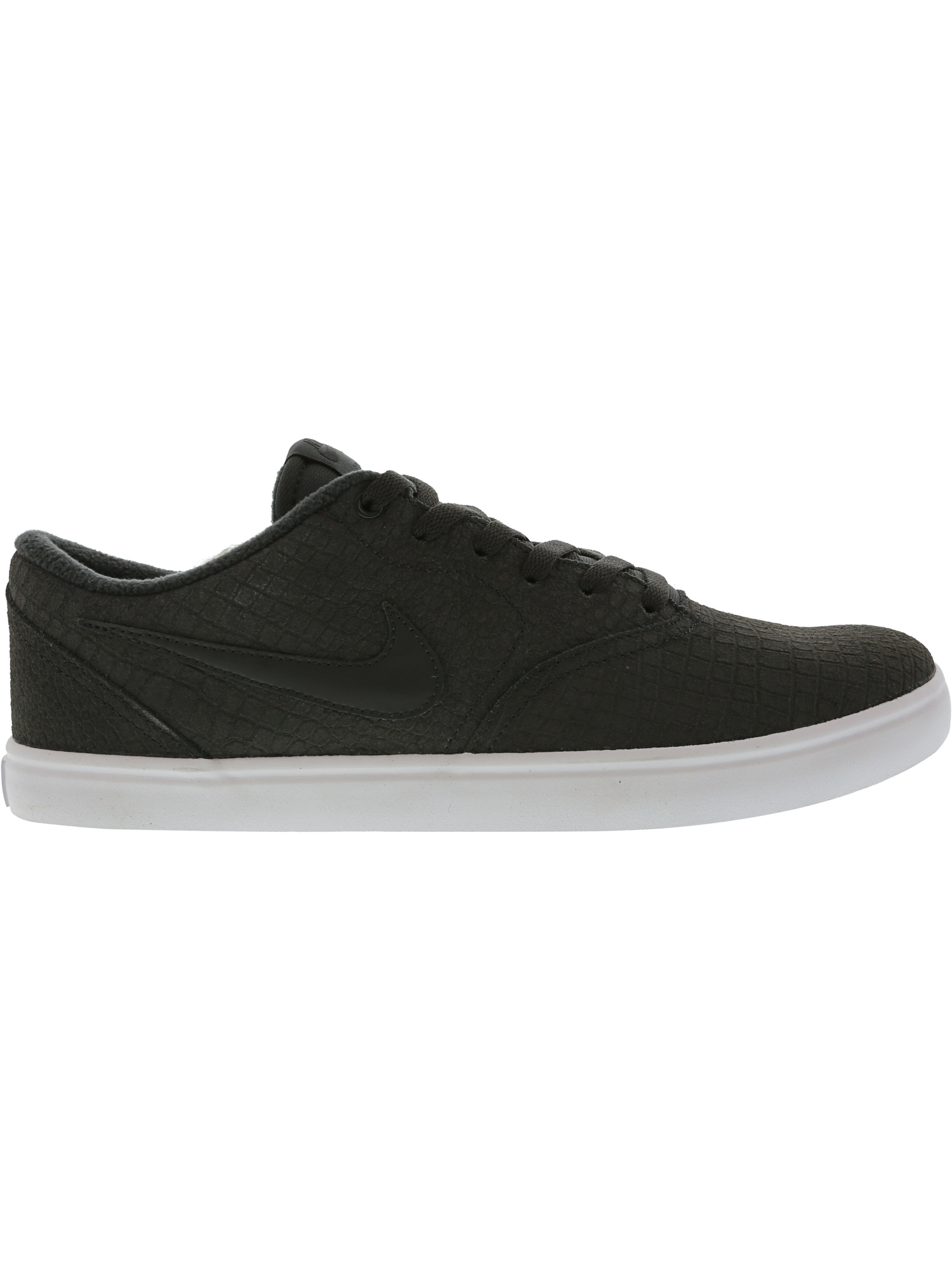 0b600961bd5 Nike Men s Sb Check Solar Ankle-High Leather Skateboarding Shoe