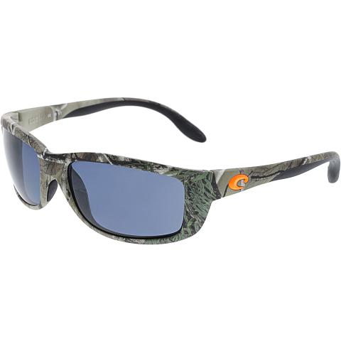 Costa Del Mar Men's Polarized Zane ZN69OGP Brown Rectangle Sunglasses