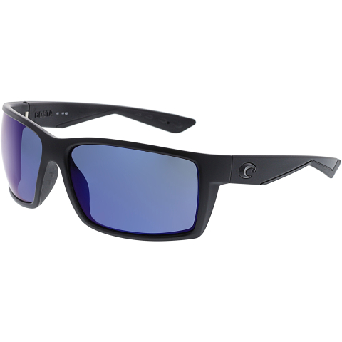 Costa Del Mar Polarized Reefton RFT01OBMP Black Rectangle Sunglasses