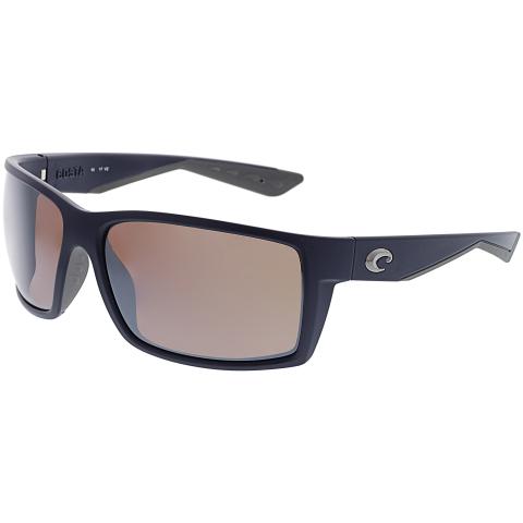 Costa Del Mar Polarized Reefton RFT75OSCP Black Rectangle Sunglasses