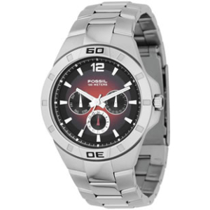 Fossil Men's BQ9276 Black Stainless-Steel Quartz Watch