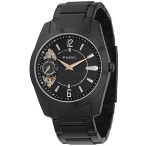 Fossil Men's Twist ME1001 Black Stainless-Steel Quartz Watch