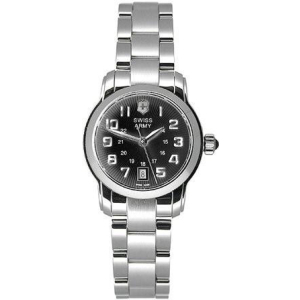 Victorinox Swiss Army Women's Vivante 241054 Black Stainless-Steel Analog Quartz Watch