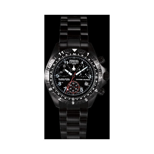 Chase-Durer Men's Special Forces Air Assault Chronograph Watch 146.4BB4-BR12 - Main Image