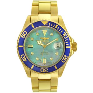 Invicta Men's Pro Diver 4619 Blue Gold Tone Automatic Watch