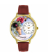 Whimsical Watches Unisex Birthstone: January Gold Watch G0910001 - Main Image Swatch
