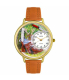 Whimsical Watches Unisex Hunting Gold Watch G1220019 - Main Image Swatch