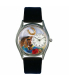 Whimsical Watches Unisex Horse Head Silver Watch S0110007 - Main Image Swatch