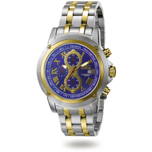 Invicta Men's 4890 Blue Two-tone Stainless-Steel Quartz Watch