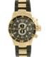 Invicta Men's Corduba/Diver 4900 Black Stainless-Steel Swiss Quartz Watch - Main Image Swatch
