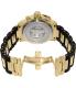 Invicta Men's Corduba/Diver 4900 Black Stainless-Steel Swiss Quartz Watch - Back Image Swatch