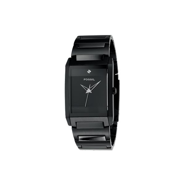 Fossil Men's Analog Black Dial FS4303 Black Stainless-Steel Quartz Watch
