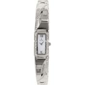 Bulova Women's 96T63 Mother-Of-Pearl Stainless-Steel Quartz Watch