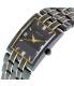 Bulova Men's Diamond 98D004 Black Two-tone Stainless-Steel Quartz Watch - Side Image Swatch