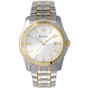 Bulova Men's 98H18 Silver Two-tone Stainless-Steel Quartz Watch