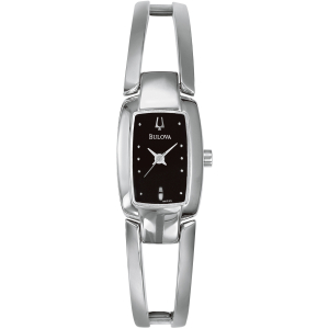 Bulova Women's 96T03 Black Stainless-Steel Quartz Watch