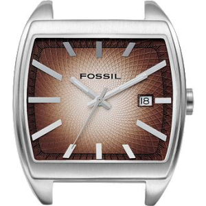Fossil Men's JR9087 Brown Other Material Analog Quartz Watch