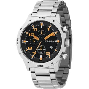 Fossil Men's CH2519 Black Stainless-Steel Chronograph Watch