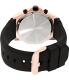 Bulova Men's Marine Star 98B104 Black Rubber Quartz Watch - Back Image Swatch