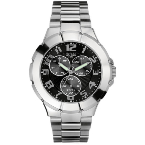 Guess Men's G10178G Black Stainless-Steel Quartz Watch