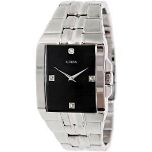 Guess Men's U10014G1 Black Stainless-Steel Quartz Watch