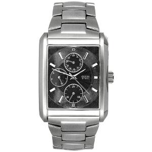Guess Men's G95291G Black Stainless-Steel Quartz Watch
