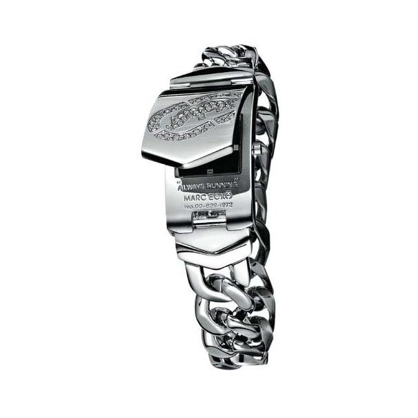 Marc Ecko Men's Rhino E95002M1 Black Stainless-Steel Quartz Watch