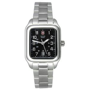 Victorinox Swiss Army Women's Officer's 1884 241070 Black Stainless-Steel Swiss Quartz Watch