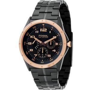 Fossil Men's Twist Black Dial BQ9348 Black Stainless-Steel Quartz Watch