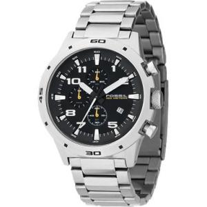 Fossil Men's Chronograph Black Dial CH2517 Black Stainless-Steel Quartz Watch
