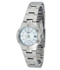 Casio Women's Core LTP1241D-2A Blue Stainless-Steel Quartz Watch