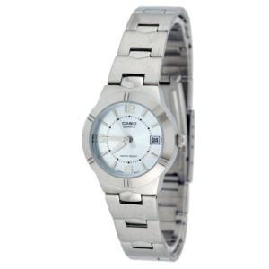 Casio Women's Core LTP1241D-2A Silver Stainless-Steel Quartz Watch