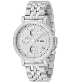 Fossil Women's ES2198 Silver Stainless-Steel Quartz Watch