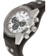 Fossil Men's Cuff CH2565 Brown Leather Quartz Watch - Side Image Swatch