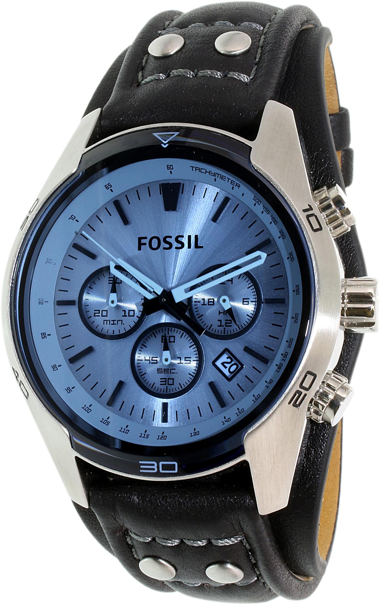 Fossil_Mens_Coachman_CH2564_Blue_Leather_Quartz_Fashion_Watch