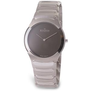 Skagen Men's Swiss in Charcoal 582XLSXM Grey Stainless-Steel Swiss Quartz Watch