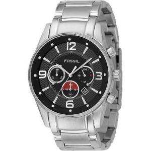Fossil Men's FS4445 Black Stainless-Steel Quartz Watch