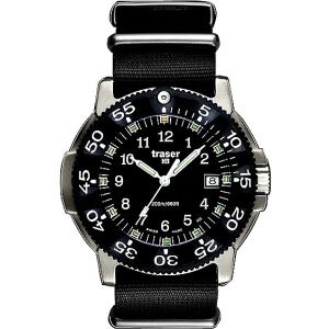 Traser Men's P6506.430.32.01 Black Stainless-Steel Quartz Watch