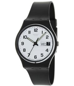 Swatch Men's Irony GB743 White Rubber Swiss Quartz Watch