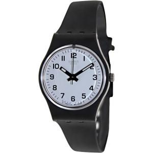 Swatch Women's Originals LB153 White Rubber Quartz Watch