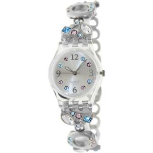 Swatch Women's Originals LK292G Silver Stainless-Steel Swiss Quartz Watch