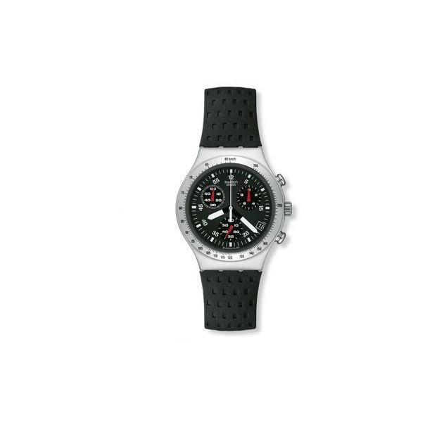 Swatch Men's Irony YCS4024 Black Resin Swiss Quartz Watch