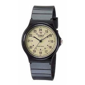Casio Men's Classic Analog MQ24-9B Beige Resin Quartz Watch
