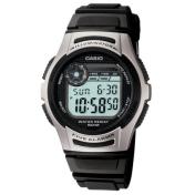 Casio Men's W213-1AV Black Resin Quartz Watch