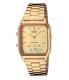 Casio Men's AQ230GA-9D Gold Metal Quartz Watch - Main Image Swatch