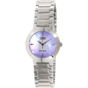 Casio Women's Core LTP1191A-2C Silver Stainless-Steel Quartz Watch