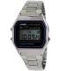 Casio Men's Core A158WA-1 Silver Stainless-Steel Quartz Watch - Main Image Swatch