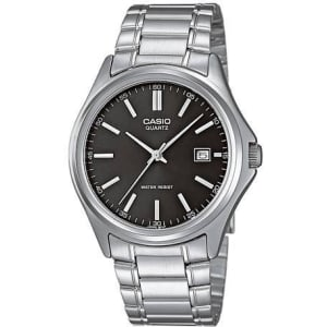 Casio Men's Core MTP1183A-1A Silver Stainless-Steel Quartz Watch